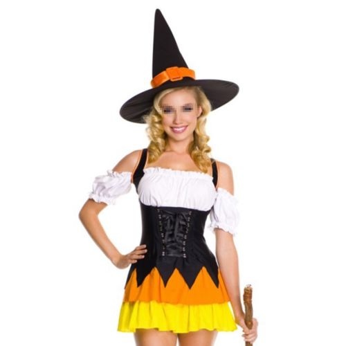 Witch Sexy Uniform Halloween Stage Costumes