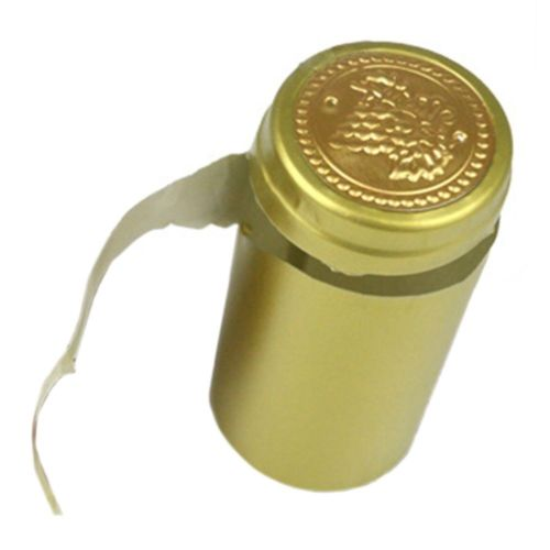 50Pcs 30mm PVC Tear Tape Wine Bottle Heat Shrink Cap Sealing Cover Home Brew Too
