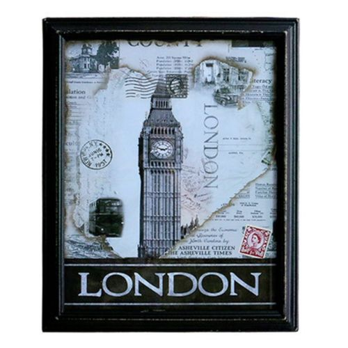 Word Famous Building Wall Hanging Decoration   4
