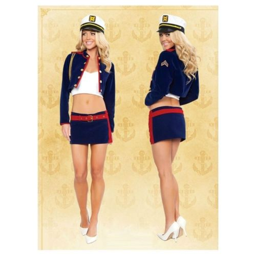 Halloween Garment Cosplay Costume Navy Sailor