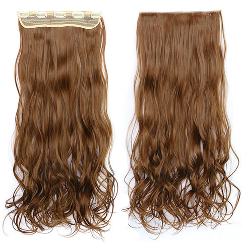 120g One Piece 5 Cards Hair Extension Wig     12