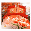 3D Queen King Size Bed Quilt/Duvet Sheet Cover Cotton reactive printing 4pcs  40 - Mega Save Wholesale & Retail