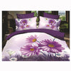 3D Queen King Size Bed Quilt/Duvet Sheet Cover Cotton reactive printing 4pcs  41 - Mega Save Wholesale & Retail