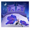 3D Queen King Size Bed Quilt/Duvet Sheet Cover Cotton reactive printing 4pcs  51 - Mega Save Wholesale & Retail