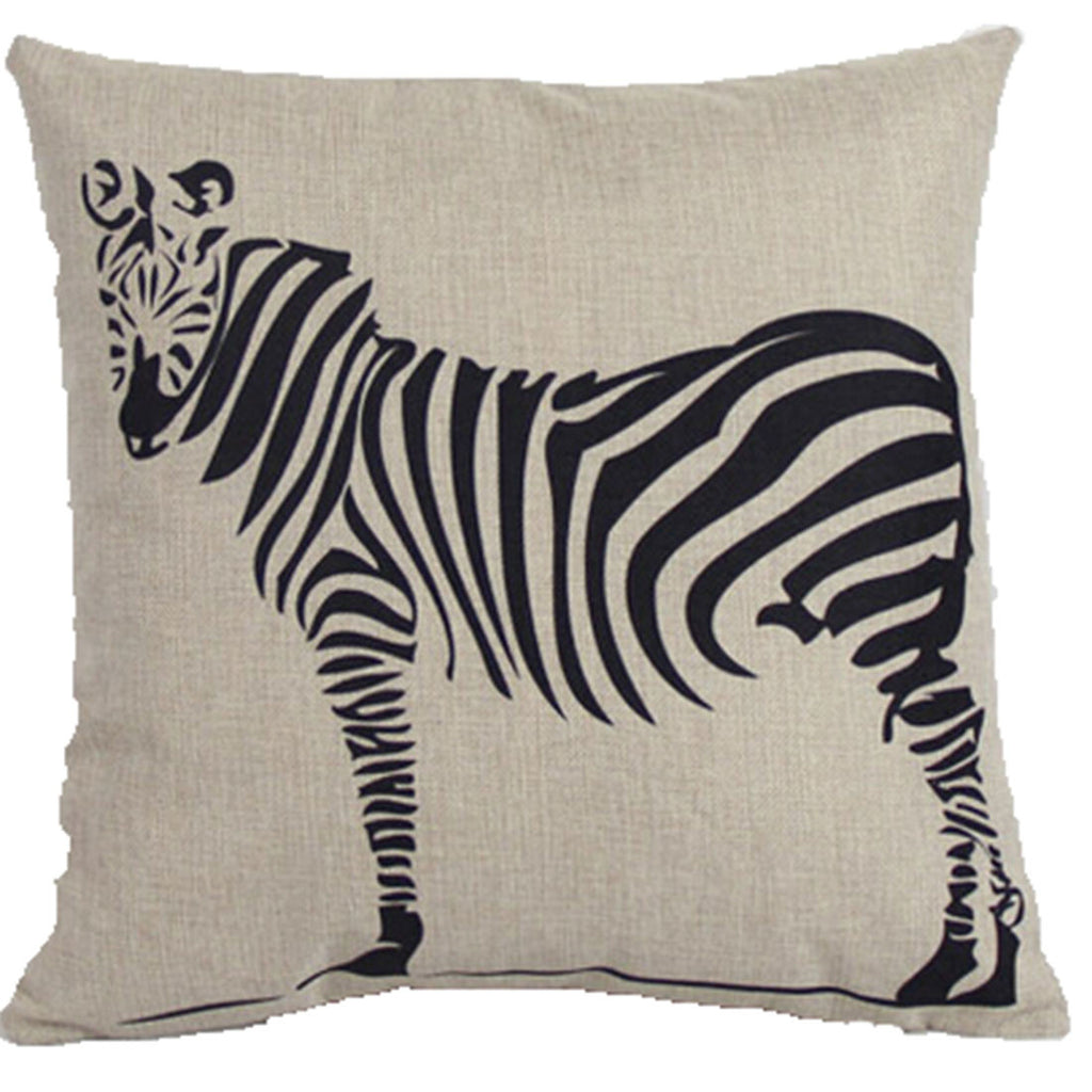 Linen Decorative Throw Pillow case Cushion Cover  132 - Mega Save Wholesale & Retail