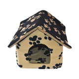 Exports cloth containing mat pet dog house dog kennel washable pet dogs and cats house cat litter Teddy Big Brown - Mega Save Wholesale & Retail - 3