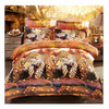 3D Active Printing Bed Quilt Duvet Sheet Cover 4PC Set Upscale Cotton  010 - Mega Save Wholesale & Retail