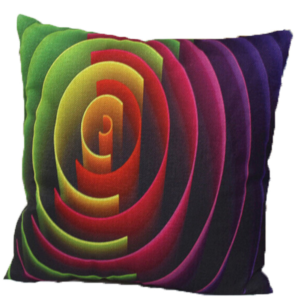 Linen Decorative Throw Pillow case Cushion Cover  144 - Mega Save Wholesale & Retail