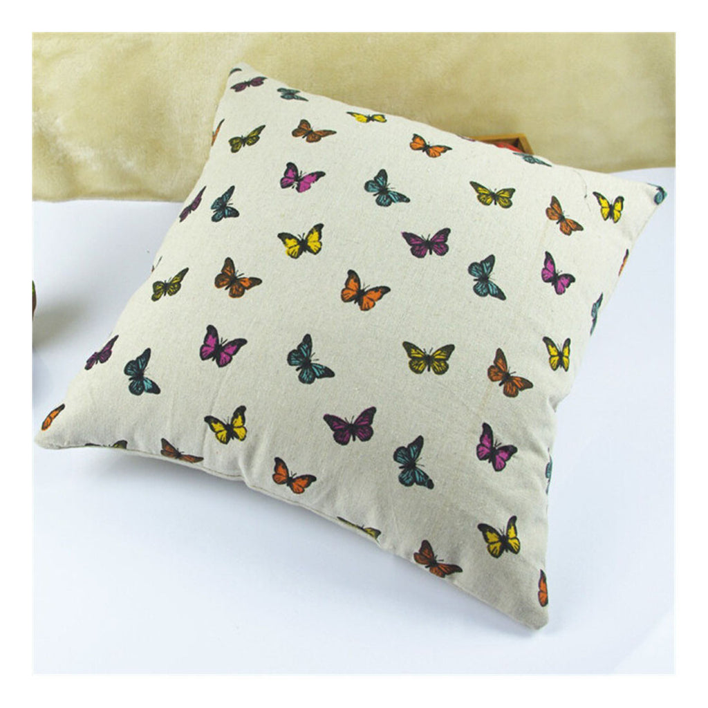 British Printed cotton  pillow cover cushion cover  14 - Mega Save Wholesale & Retail