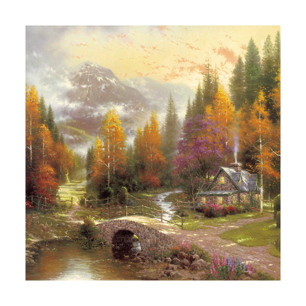European and American scenery Thomas cattle decoration painting bulk villa hang painting hotel oil painting    14 - Mega Save Wholesale & Retail - 1