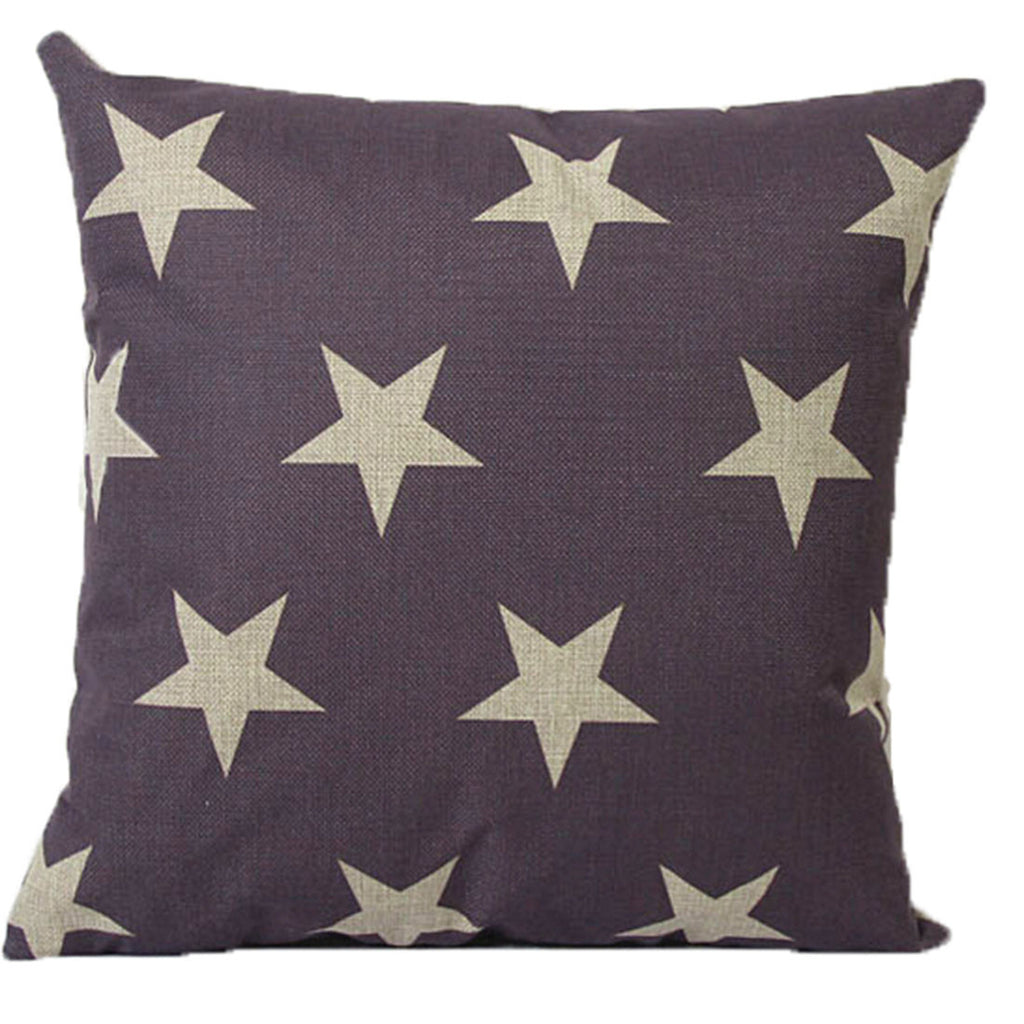 Linen Decorative Throw Pillow case Cushion Cover  154 - Mega Save Wholesale & Retail