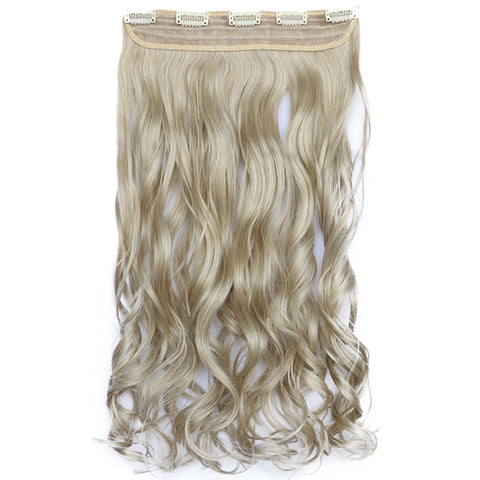 120g One Piece 5 Cards Hair Extension Wig     16/613