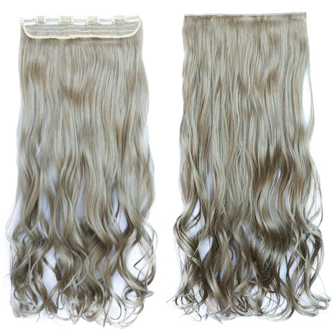 120g One Piece 5 Cards Hair Extension Wig     16