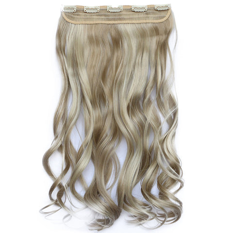 120g One Piece 5 Cards Hair Extension Wig     16H613