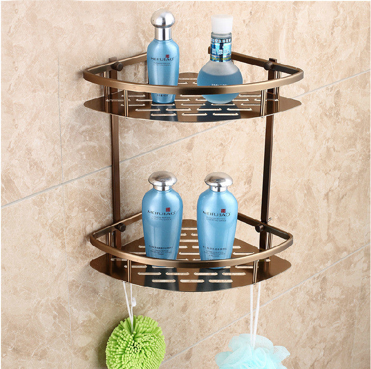 Antique bathroom accessories towel rack space aluminum towel rack suits Storage Continental Wenzhou bathroom accessories bathroom - Mega Save Wholesale & Retail - 5