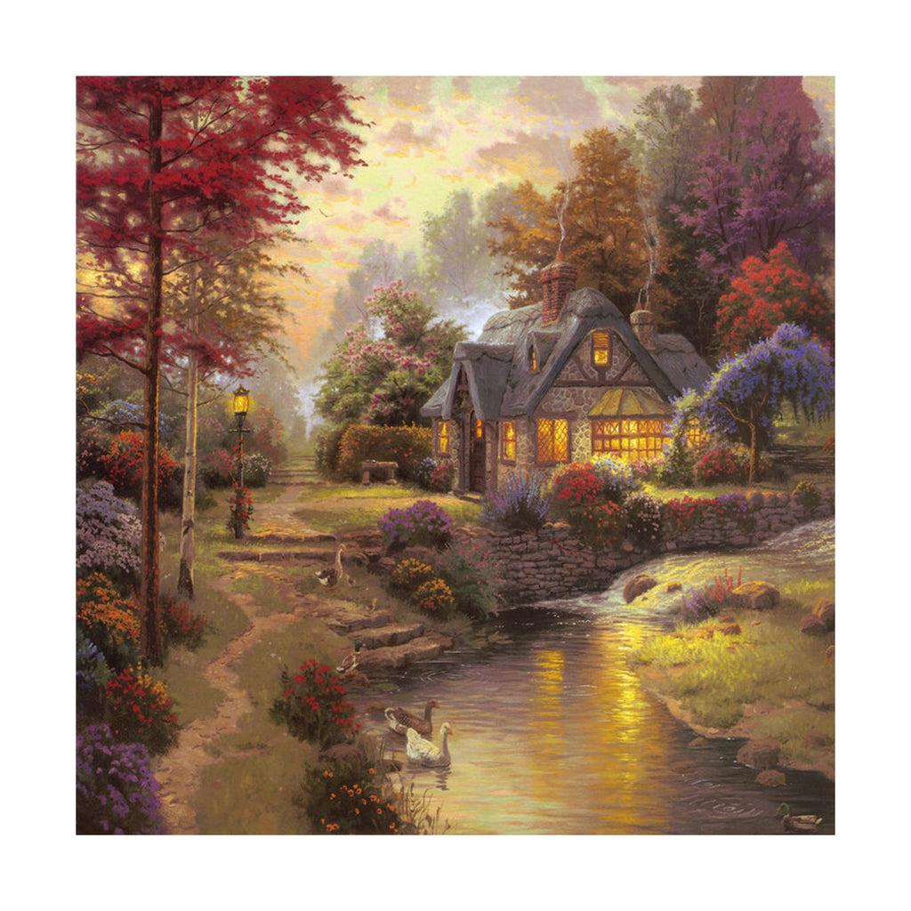 European and American scenery Thomas cattle decoration painting bulk villa hang painting hotel oil painting    17 - Mega Save Wholesale & Retail - 1