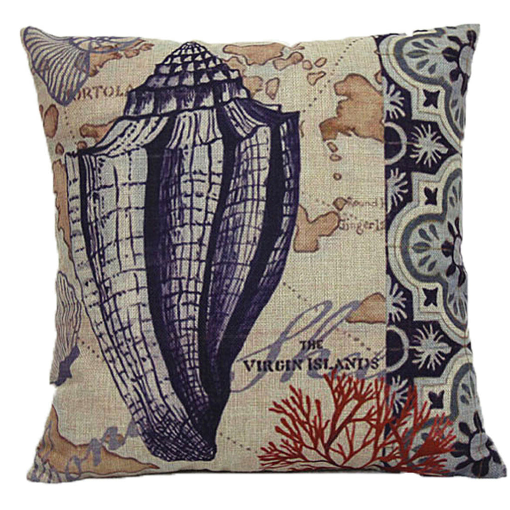 Linen Decorative Throw Pillow case Cushion Cover  180 - Mega Save Wholesale & Retail