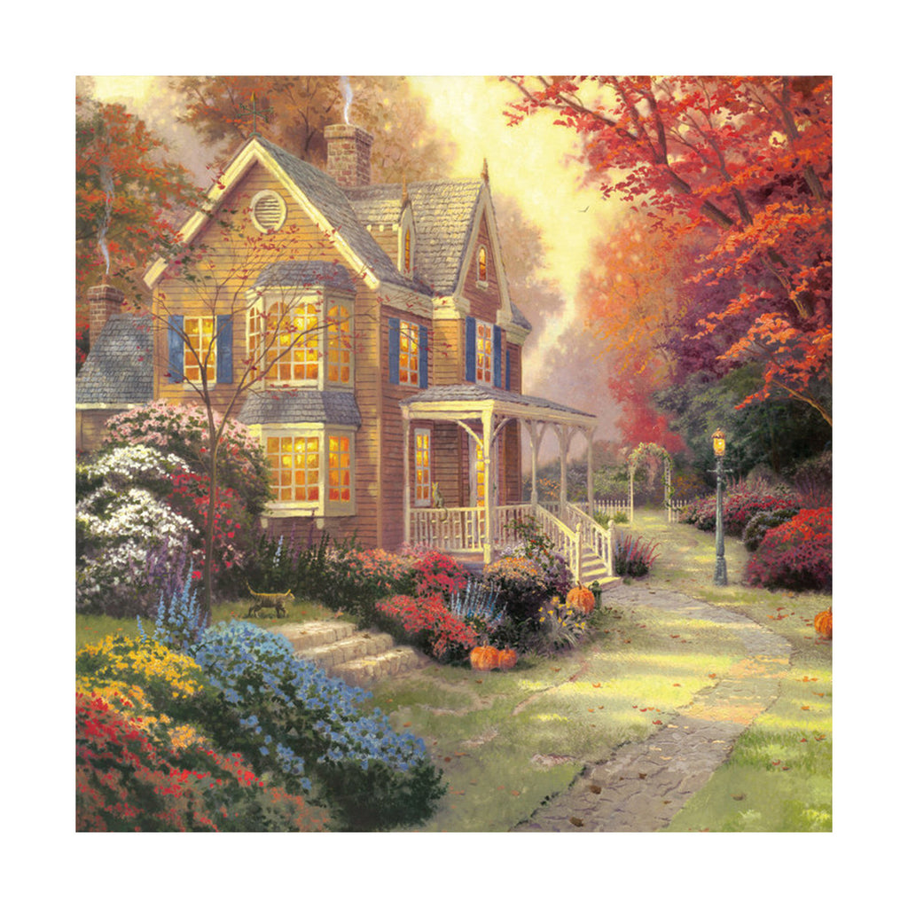 European and American scenery Thomas cattle decoration painting bulk villa hang painting hotel oil painting   18 - Mega Save Wholesale & Retail - 1