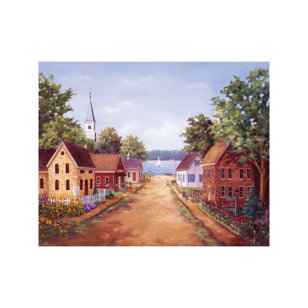 decoration countryside scenery painting printing bulk oil painting living room study classrom wall painting    18 - Mega Save Wholesale & Retail - 1