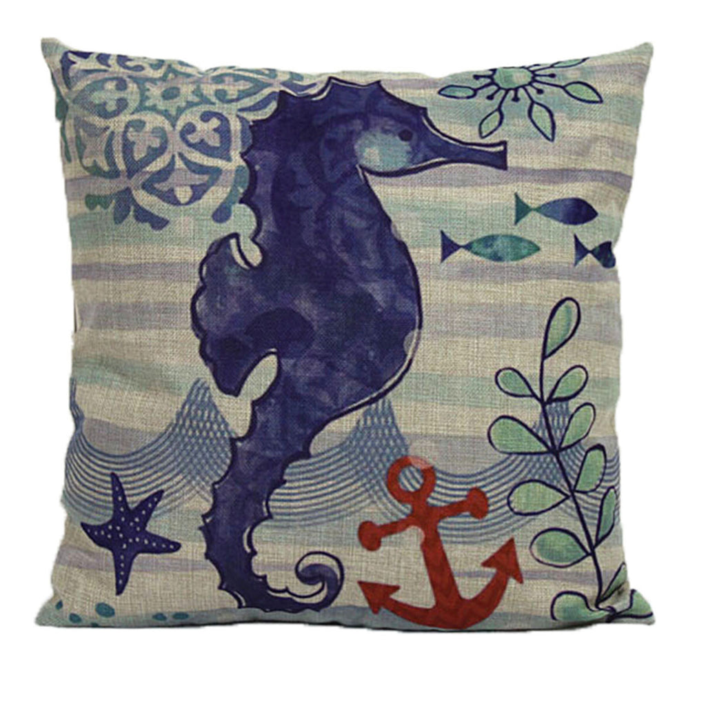 Linen Decorative Throw Pillow case Cushion Cover  195 - Mega Save Wholesale & Retail