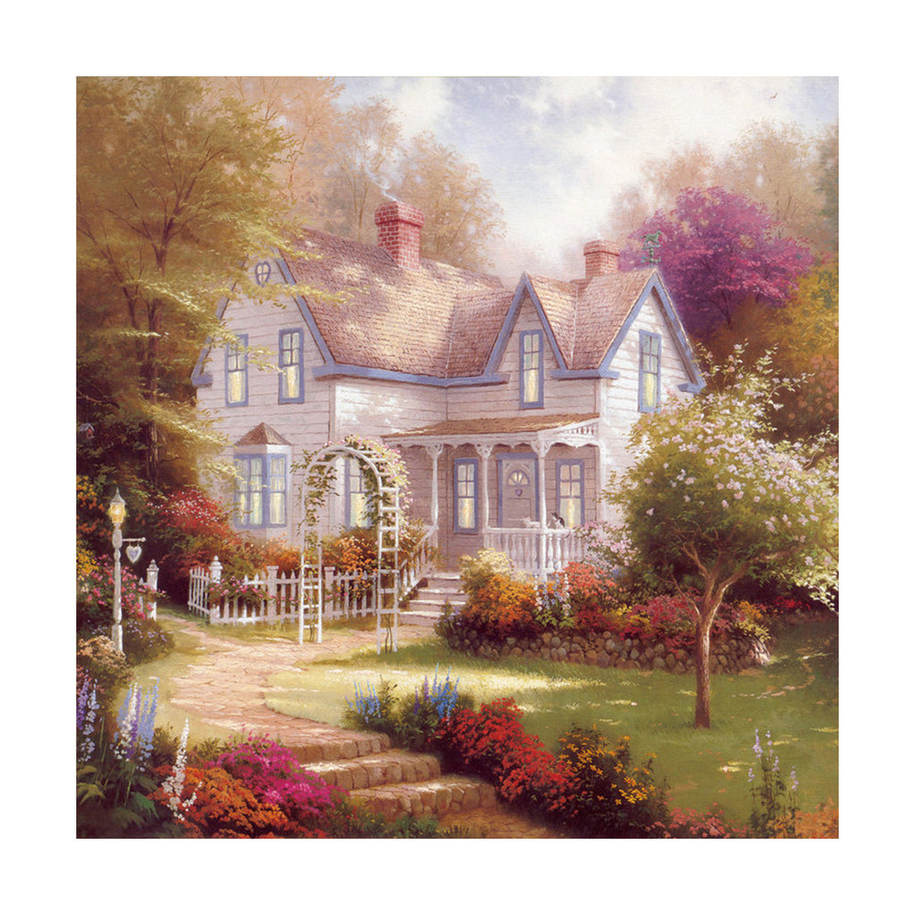 European and American scenery Thomas cattle decoration painting bulk villa hang painting hotel oil painting    19 - Mega Save Wholesale & Retail - 1