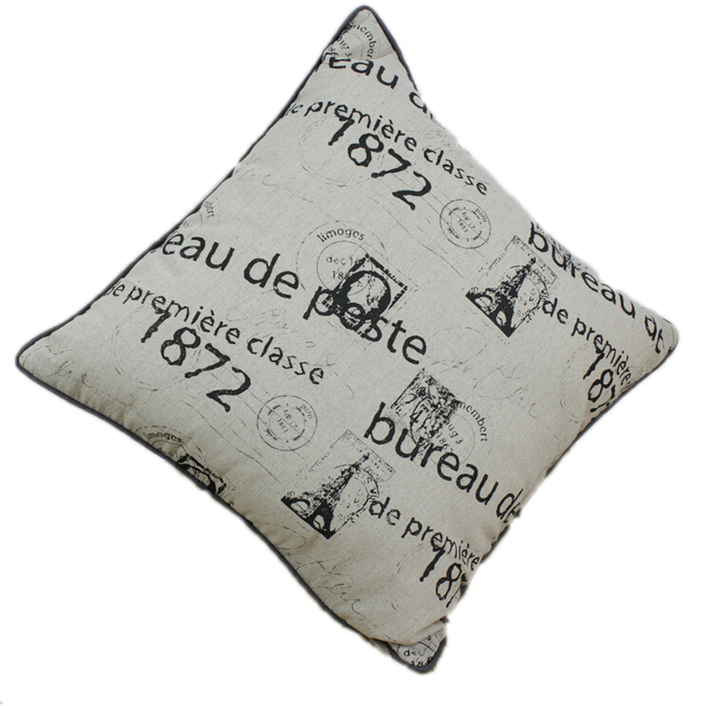 Linen Decorative Throw Pillow case Cushion Cover  19 - Mega Save Wholesale & Retail