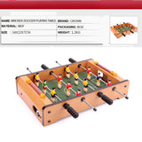 Crown HG25 small children's toys table football Mini Soccer World Cup Soccer table four - Mega Save Wholesale & Retail - 2