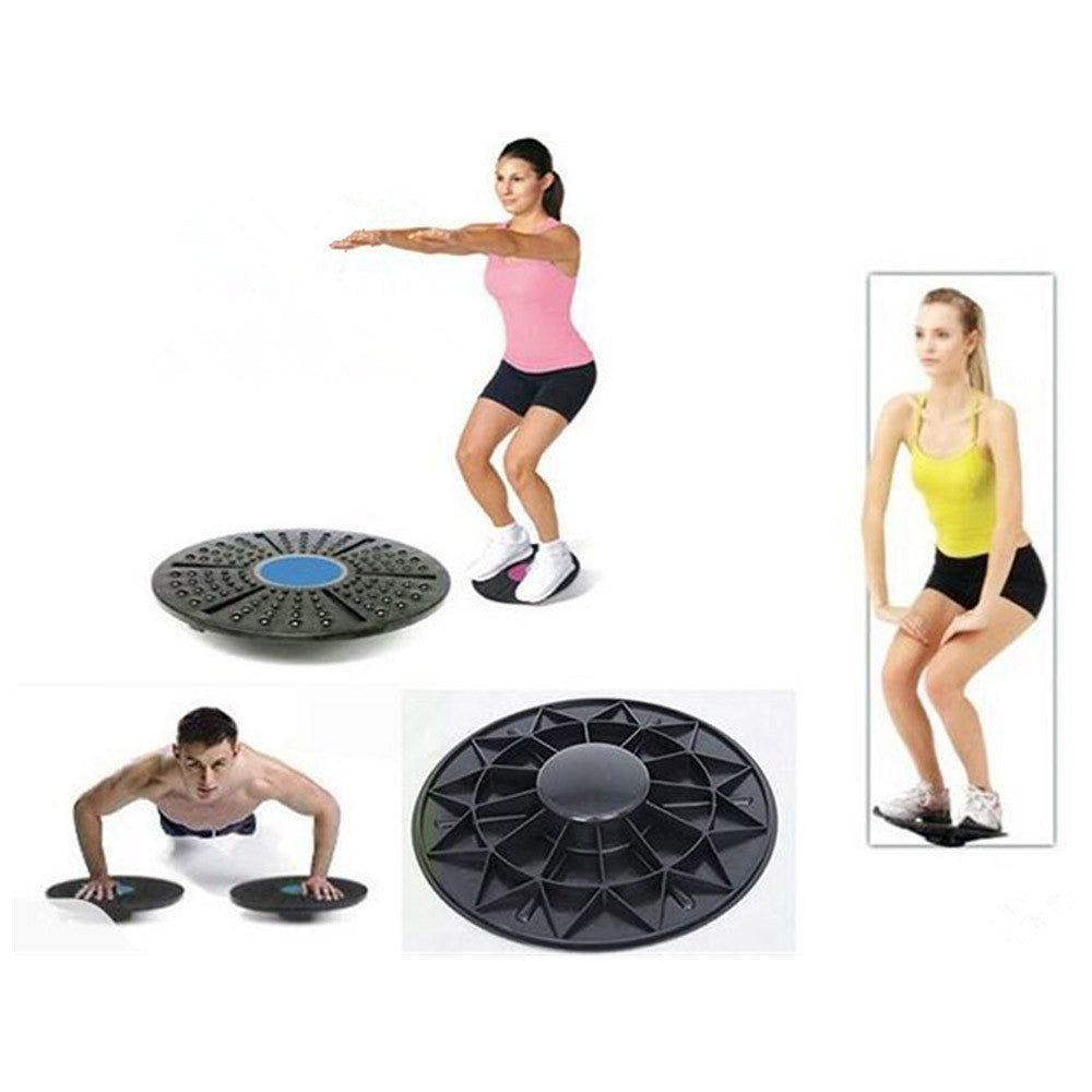 Balance Board For Fitness Therapy Workout Gym Rehab Muscle Definition Health Equipment - Mega Save Wholesale & Retail - 2