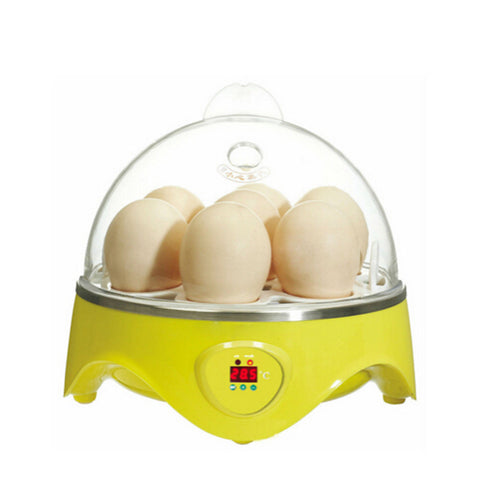 Mini Incubator 7 Egg Capacity Automatic Digital Chicken Duck Bird Hatch Tool - Mega Save Wholesale & Retail - 1