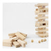 Pine Jenga Box 54 Pieces 4 Dices Presented Bulding Stock Domino Small Digit Jenga - Mega Save Wholesale & Retail