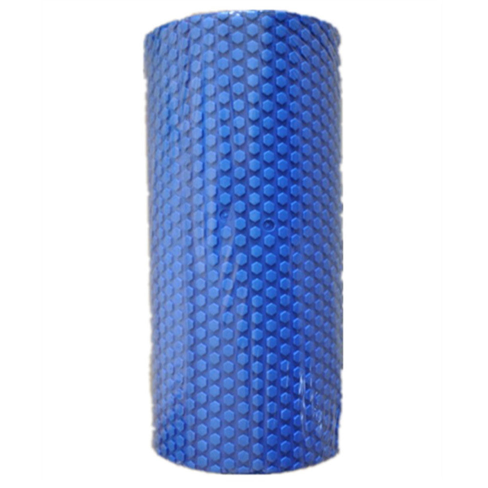 Yoga Gym Pilates EVA Soft Foam Roller Floor Exercise Fitness Trigger 45x14.5cm Blue - Mega Save Wholesale & Retail - 5