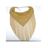 New European Big Brand Golden Clavicle Necklace High-end Decent Fashionable Tassel Necklace - Mega Save Wholesale & Retail