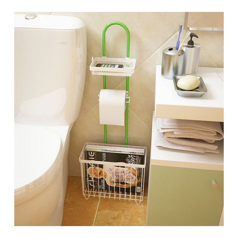 creatwo simple multifunction bathroom reading rack toilet toilet shelving shelf storage rack storage - Mega Save Wholesale & Retail - 1