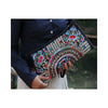 Original Yunnan Featured National Style Embroidery Bag Zipper Cotton Single-shoulder Bag Handbag Messenger Bag     1 - Mega Save Wholesale & Retail - 1