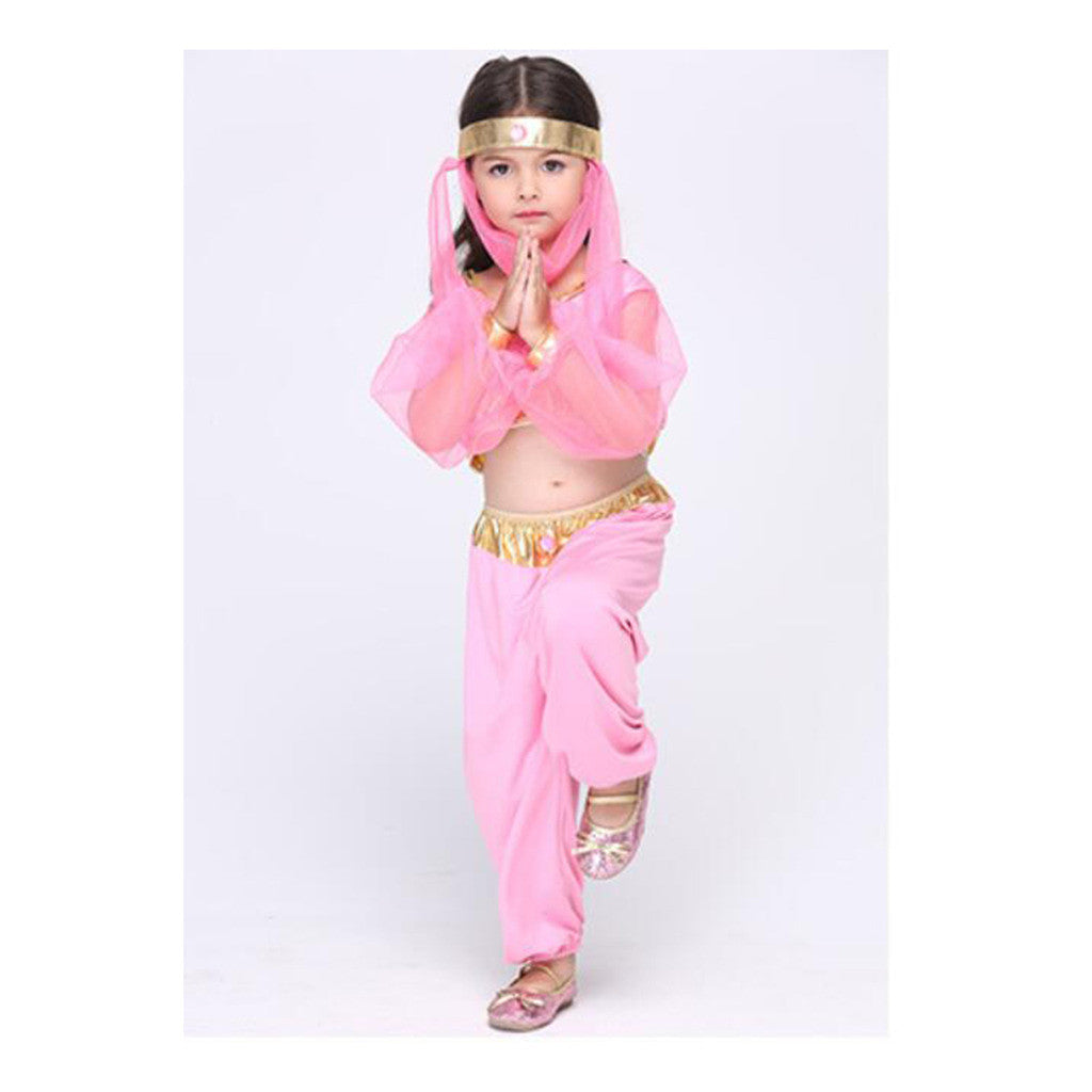 Children Kid Girl Dancing Dress Cosplay Stage Dress Costume Festival Suit - Mega Save Wholesale & Retail