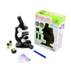 Education Toy Microscope Set Kids and Student Science Library Tools Boys and girls Black - Mega Save Wholesale & Retail - 1