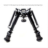 "6"" to 9"" Spring Return Rifle Sniper Bipod Sling Swivel Mount Picatinny Rail - Mega Save Wholesale & Retail"