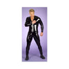 Patent Leather Siamese Trousers Black Man Garment Night Club Pole Dance Garment - Mega Save Wholesale & Retail
