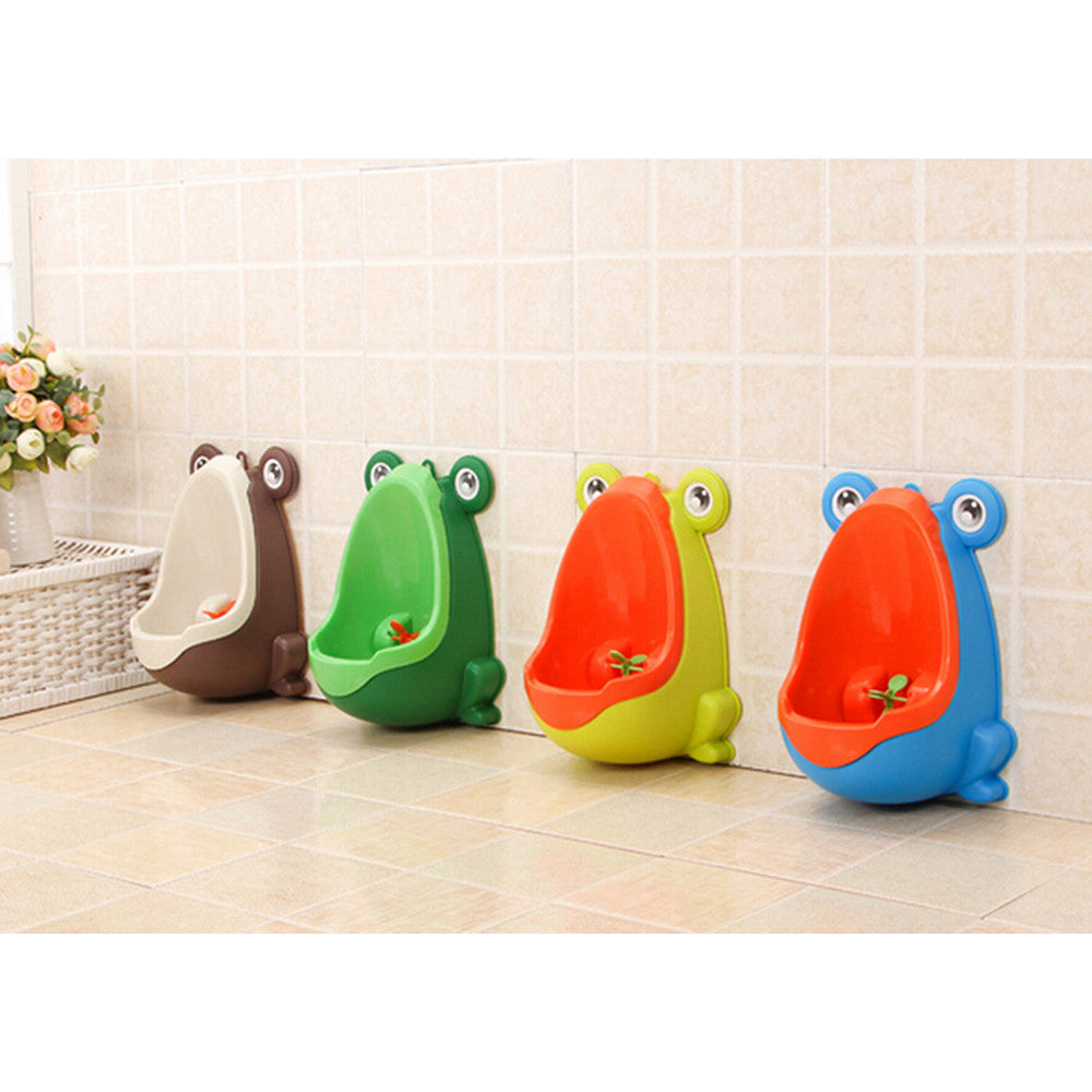 Detachable Frog Potty Pee Urine Training Infant Kids Urinal With Aiming Target 4 Colors   blue - Mega Save Wholesale & Retail - 7