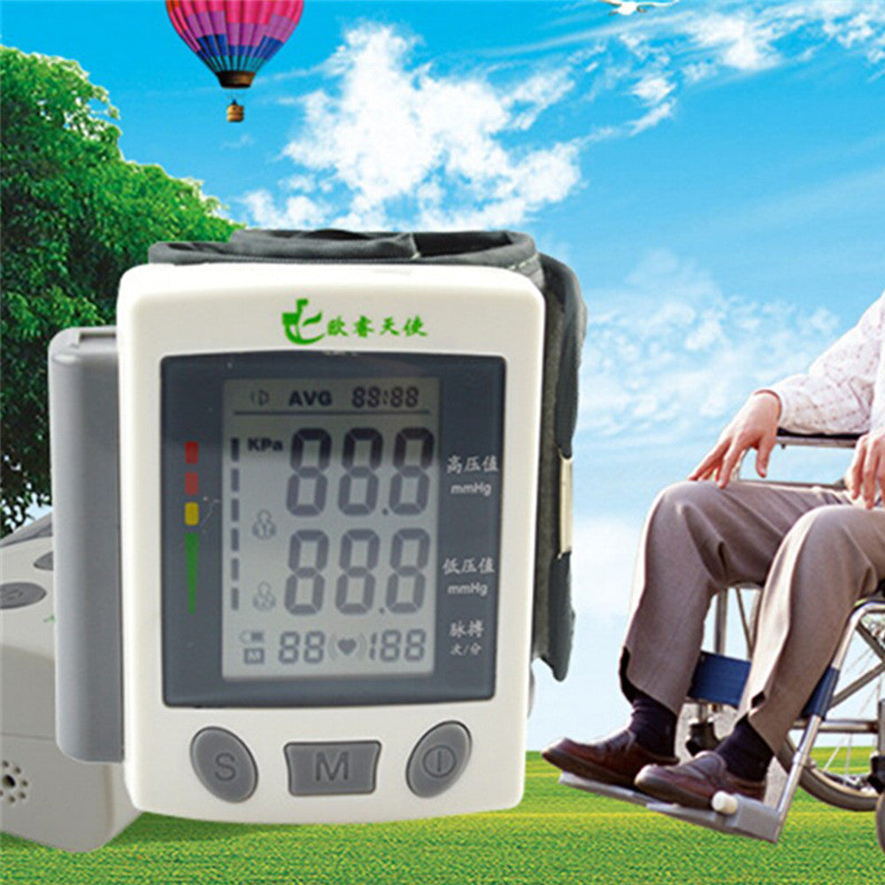 Fully Automatic Digital Blood Pressure Monitor Wrist Type - Mega Save Wholesale & Retail - 2