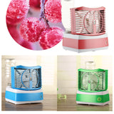 Summer Icy Hot new creative snowman humidification fan - Mega Save Wholesale & Retail - 2