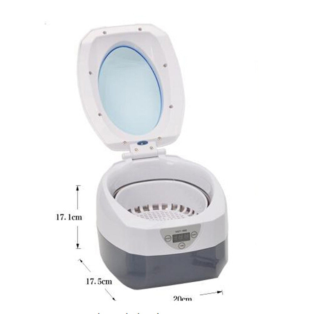 Ultrasonic Jewellery  Eyeglass  Watch and Denture  Diamond  Cleaner 750ML Professional 110V - Mega Save Wholesale & Retail - 2