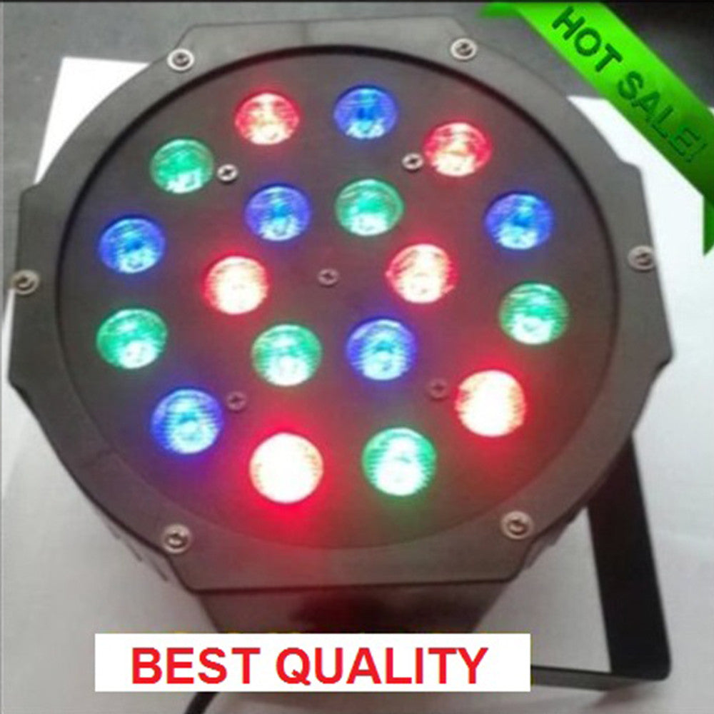 18 3WLED Par wedding show staining dynamic stage lights ktv bar lights beam flash Par 110V - Mega Save Wholesale & Retail