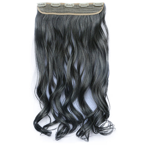 120g One Piece 5 Cards Hair Extension Wig     2/613