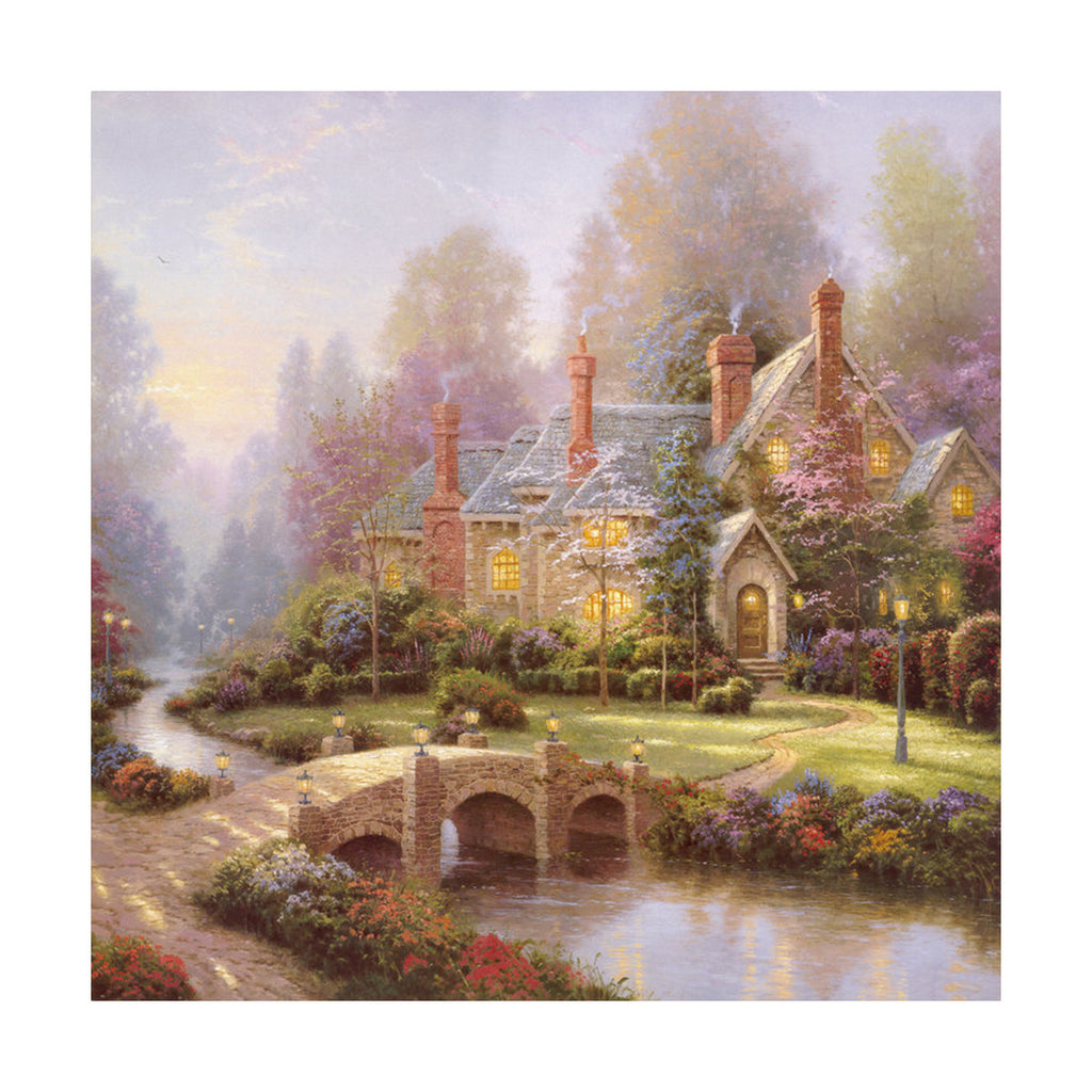 European and American scenery Thomas cattle decoration painting bulk villa hang painting hotel oil painting    20 - Mega Save Wholesale & Retail - 1