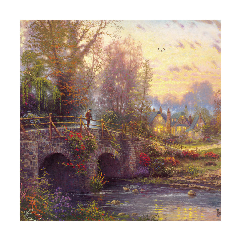European and American scenery Thomas cattle decoration painting bulk villa hang painting hotel oil painting    21 - Mega Save Wholesale & Retail - 1