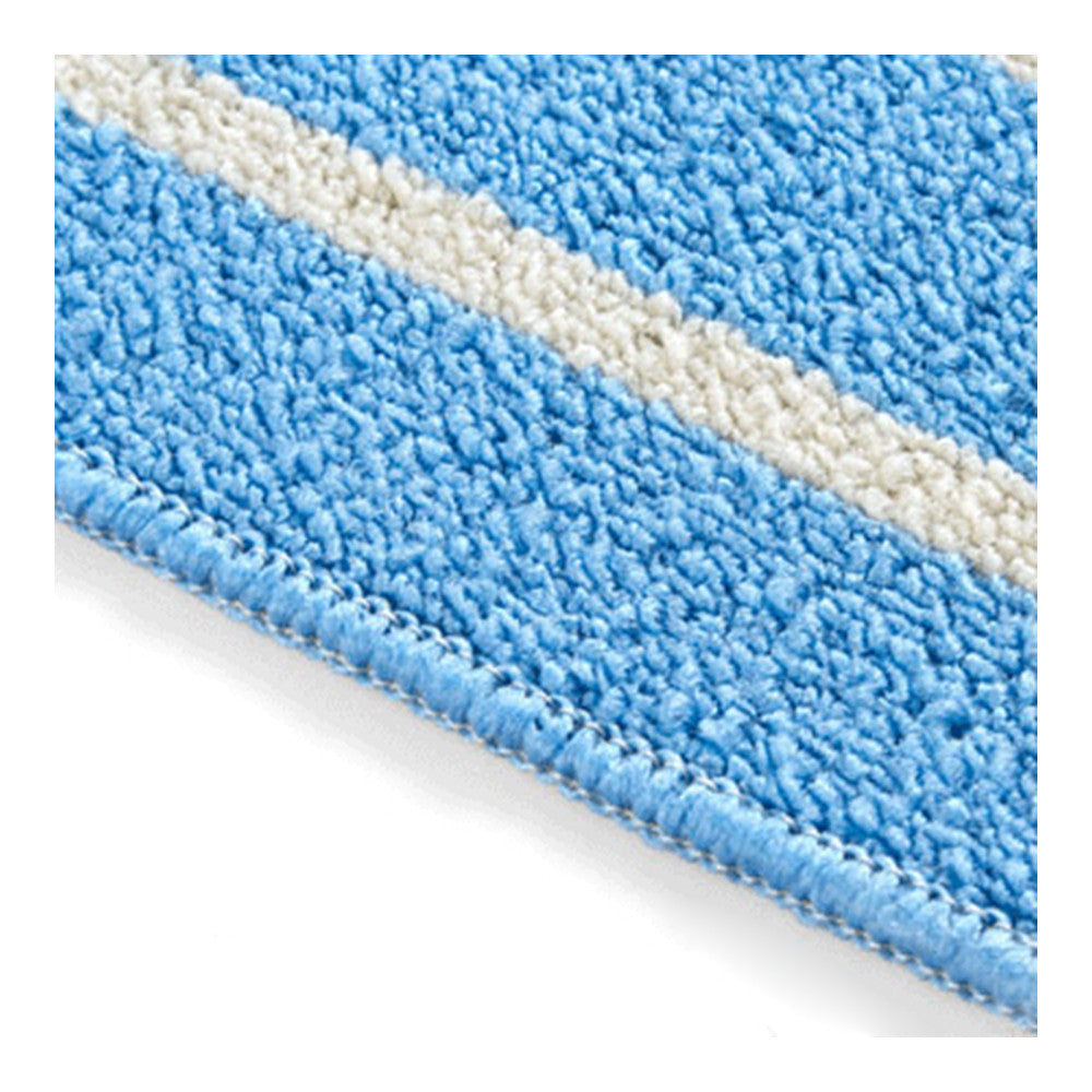 Simple Stripe Long Ground Floor Door Mat Carpet 43x65cm blue - Mega Save Wholesale & Retail - 3