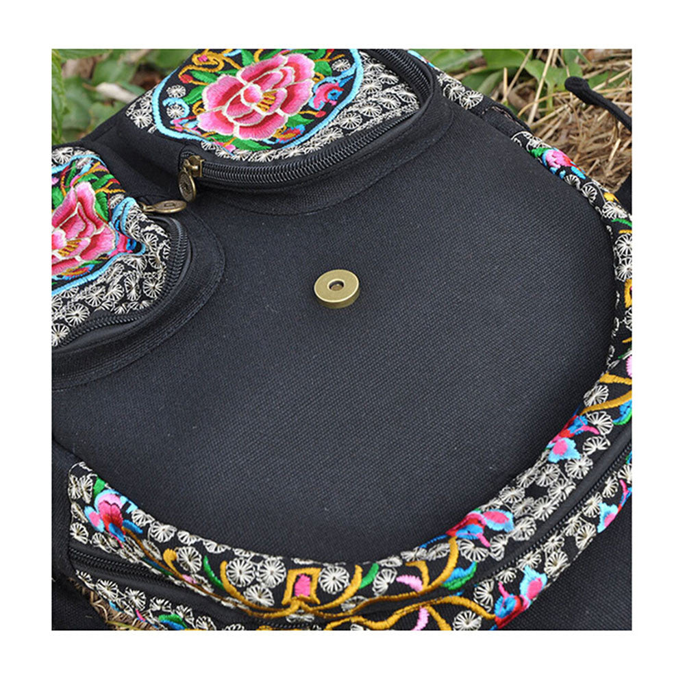 New Yunnan Fashionable Natioanl Style Embroidery Bag Stylish Featured Shoulders Bag Fashionable Woman's Bag Bulk93019   zamioculcas zamiifolia with flower - Mega Save Wholesale & Retail - 5