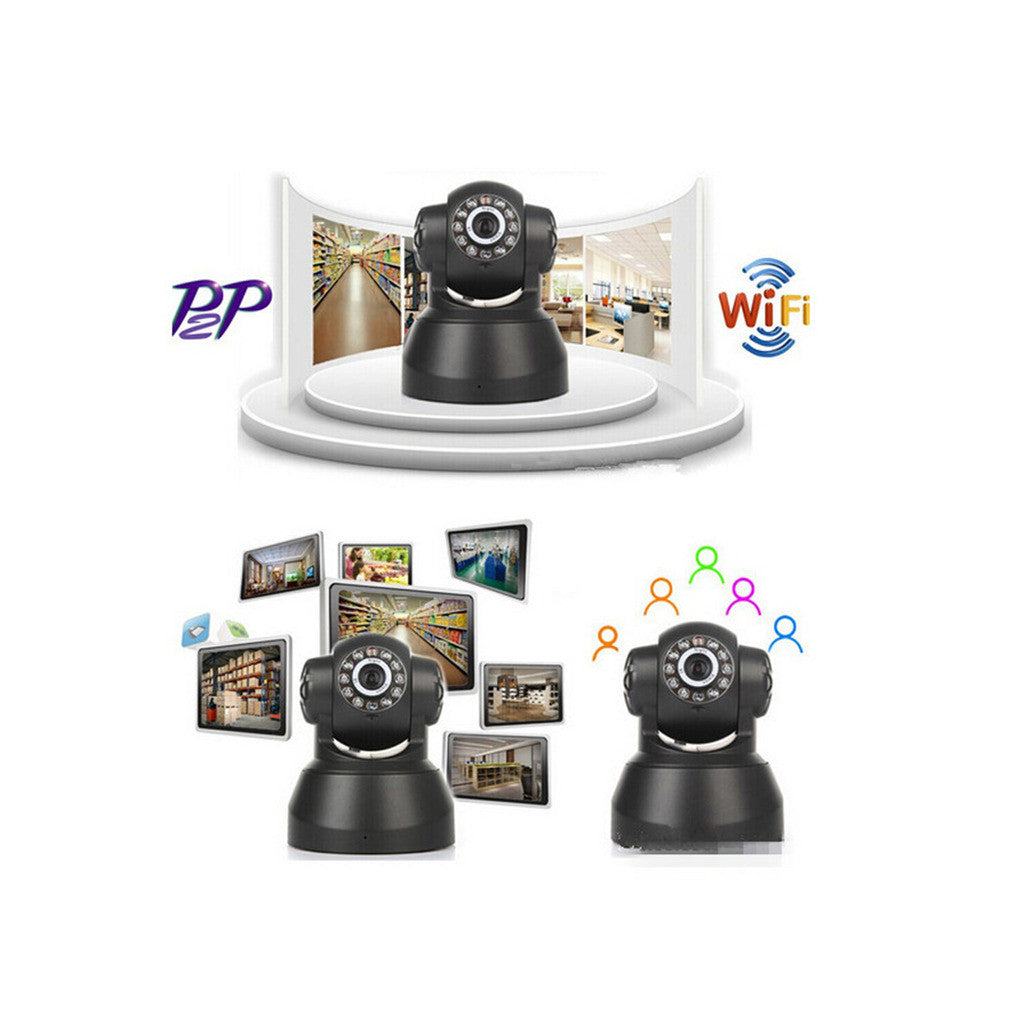 WIFI Online Monitoring Cloud Deck Camera 720P High Defifnity Card Camera IP Camera XXK-50100 - Mega Save Wholesale & Retail - 2