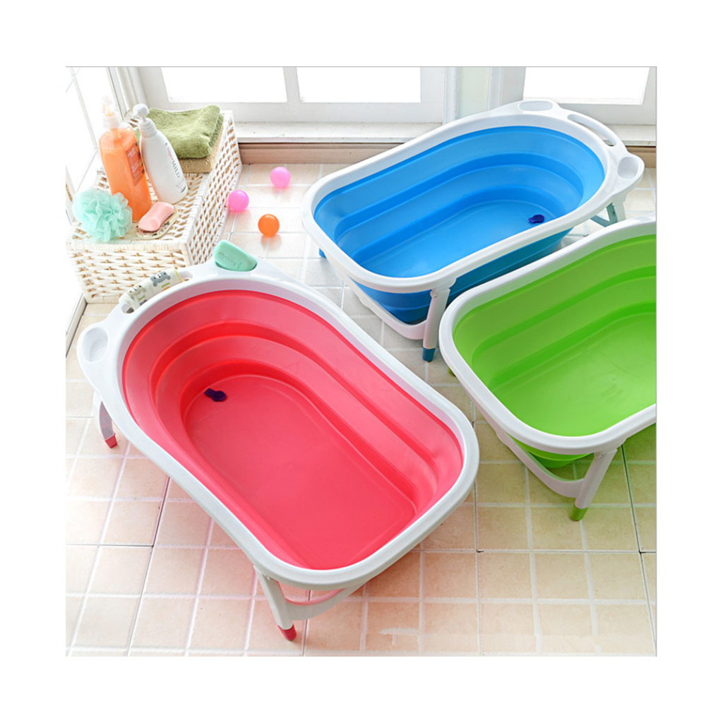 Baby Folding Bath Tub Pink - Mega Save Wholesale & Retail - 5